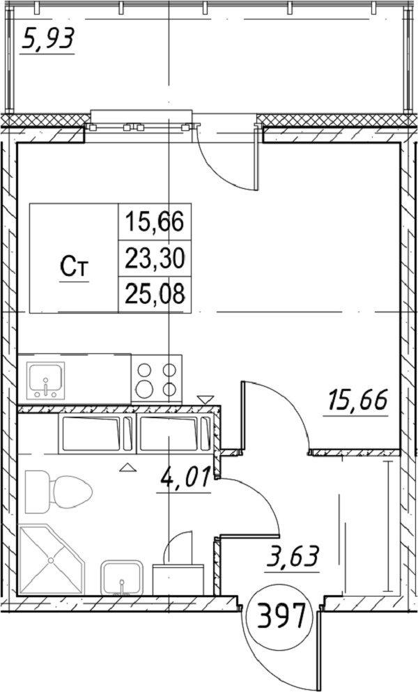 Типанова ул., д 23, корпус 1