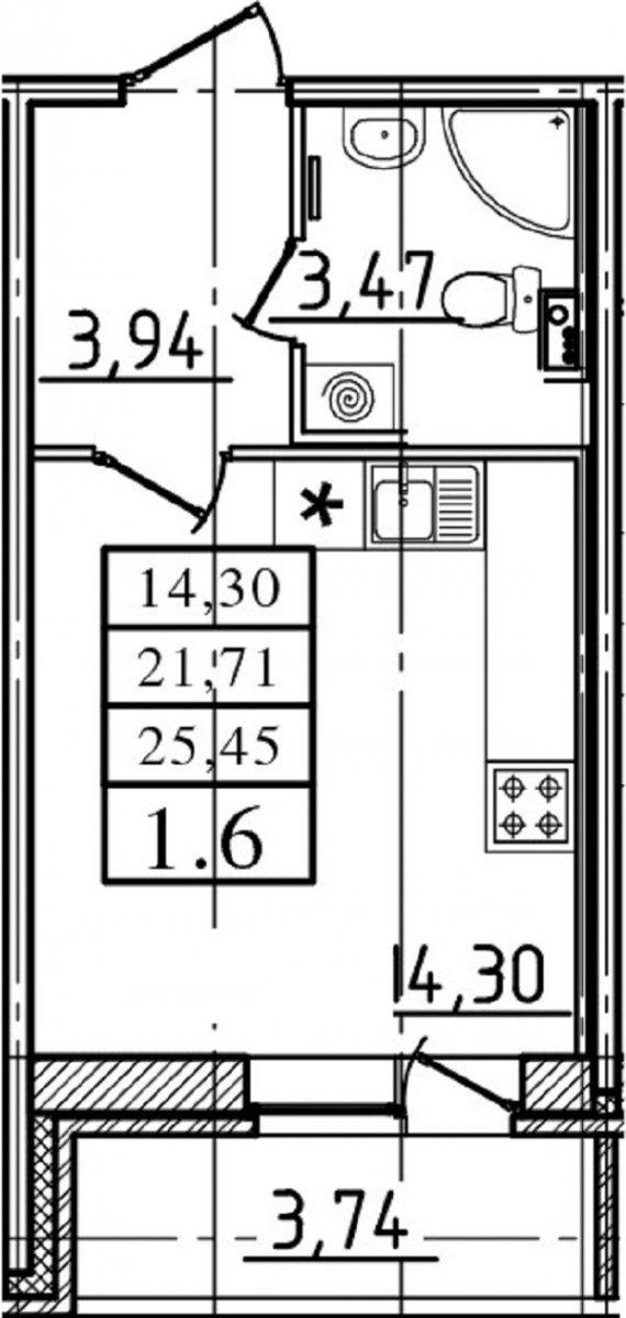 Пискаревский просп., д 25, корпус 2