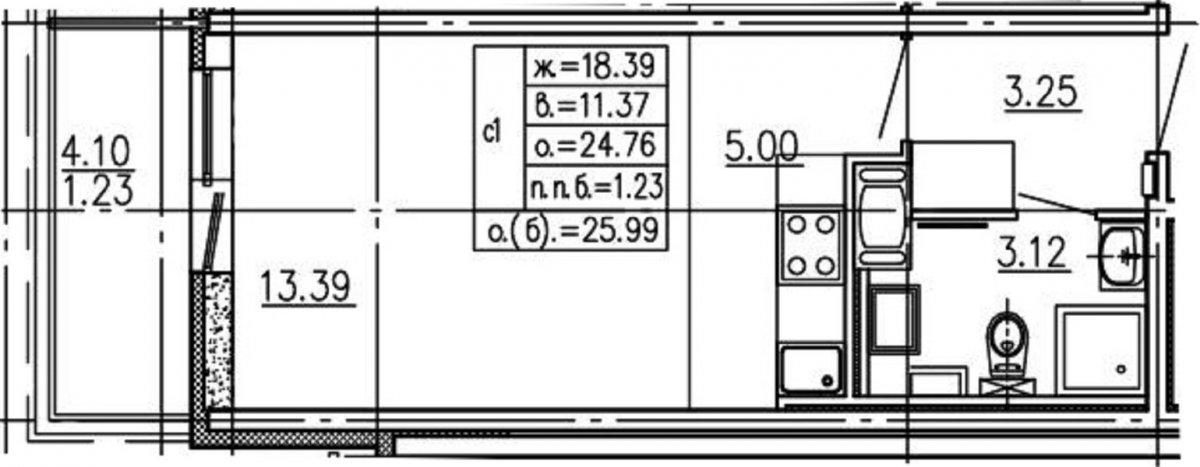 Комендантский просп., д 64,, корпус 1