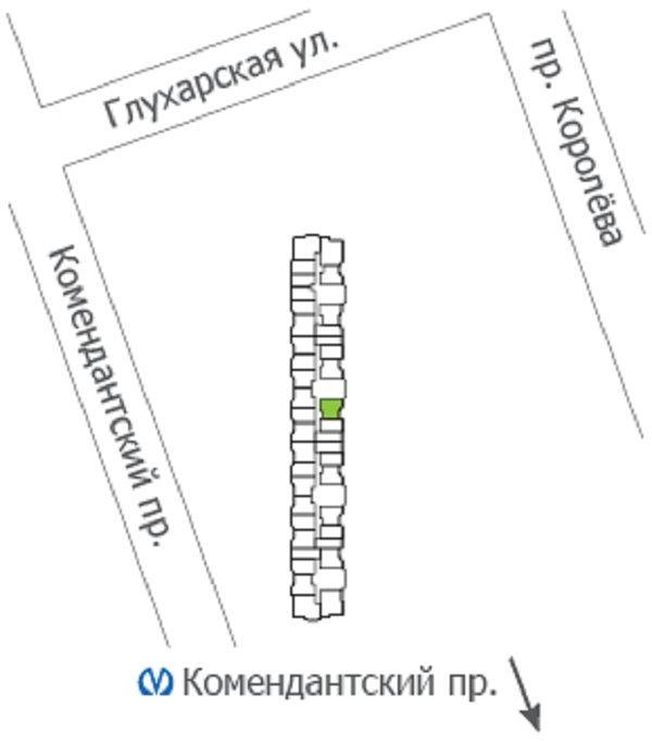 Комендантский просп., д 55