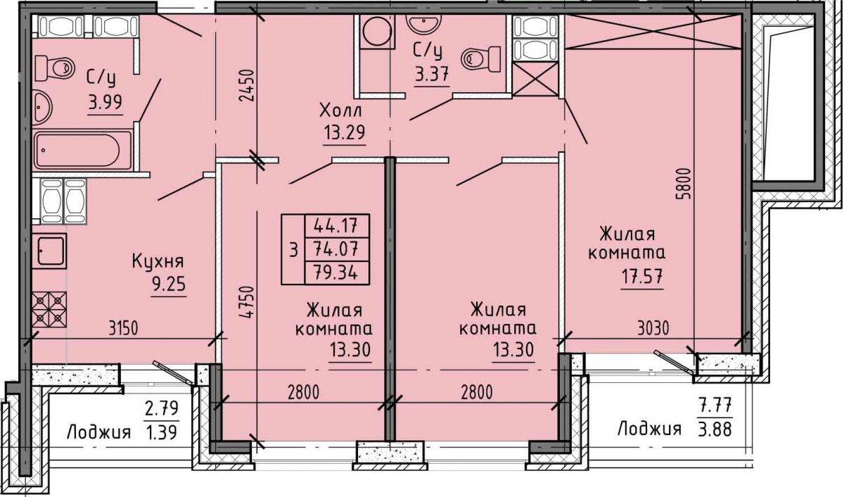 Советский просп., д 43, корпус 1