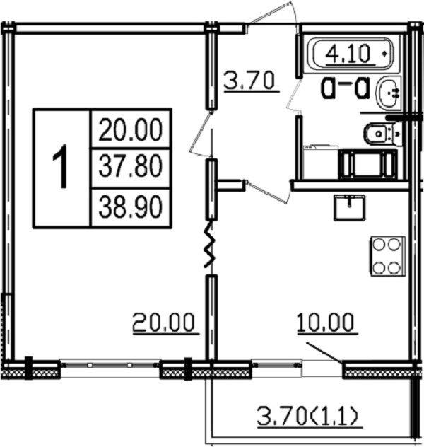 Дыбенко ул., д 4, корпус 2
