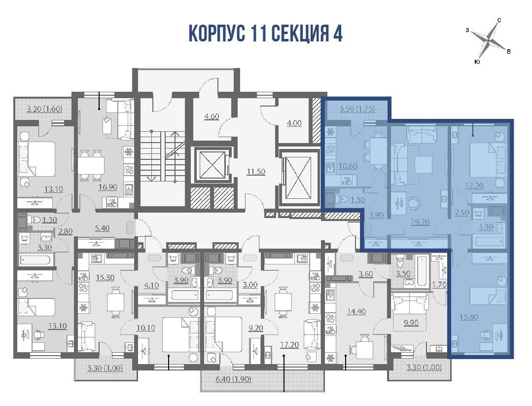 Октябрьская наб., д 42, корпус 11