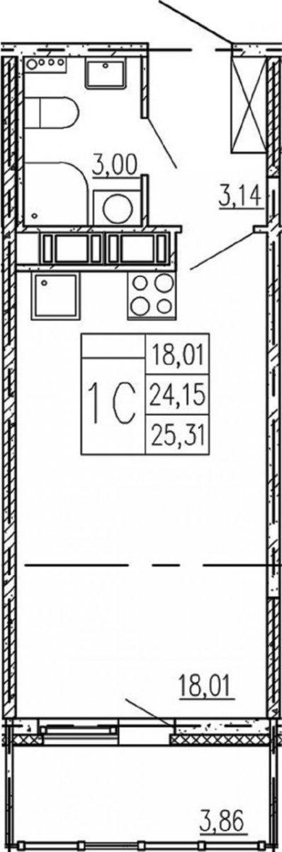 1 Предпортовый пр-д, д 13