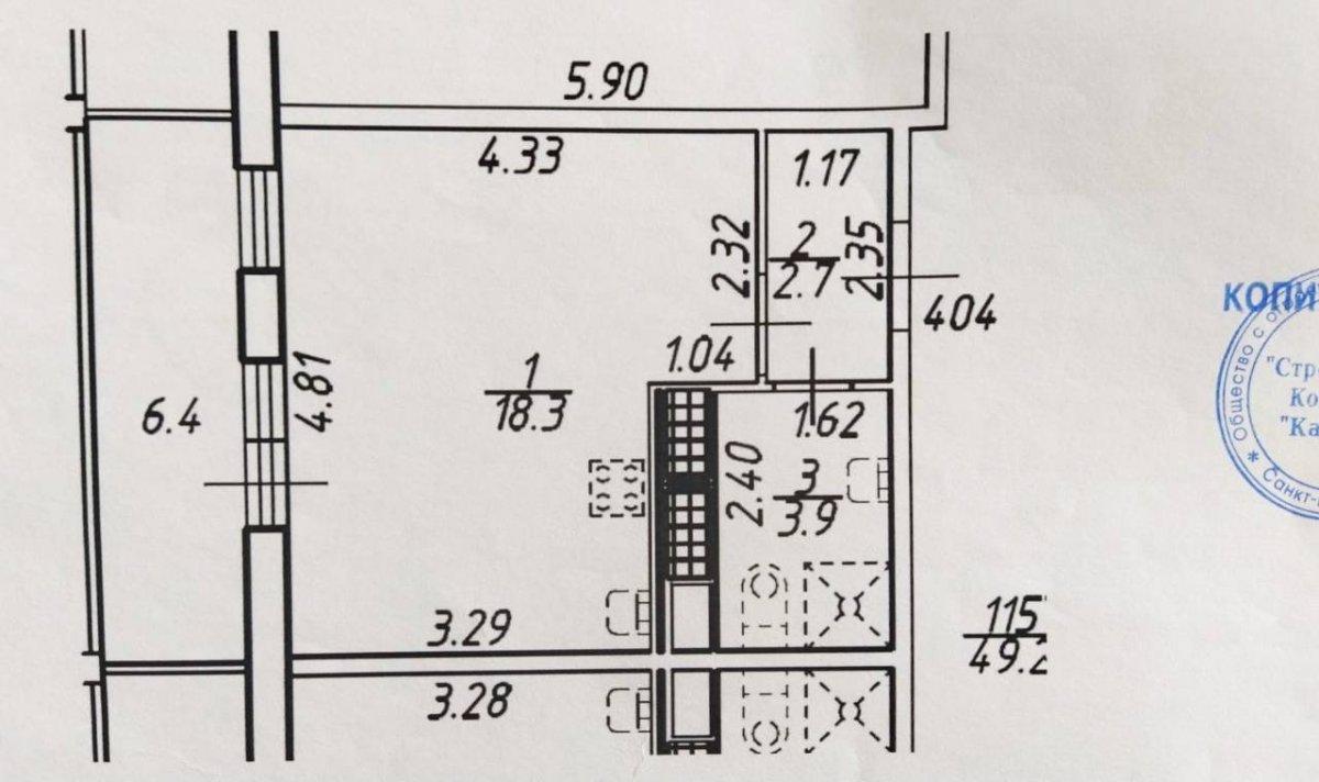 Арцеуловская аллея, д 23, корпус 1