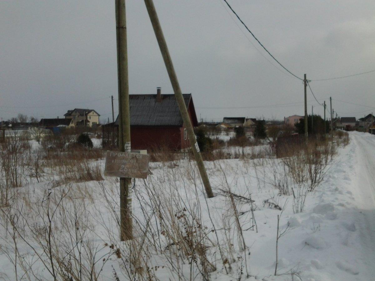 Продажа участка, Кипень, Ропшинское шос.