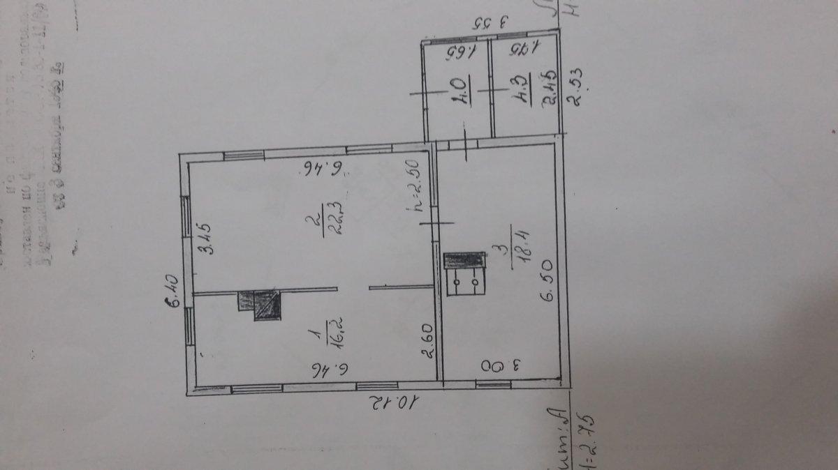 Продажа дома, 57м <sup>2</sup>, 37 сот., Муховицы, Муховицы дер.,  д 3