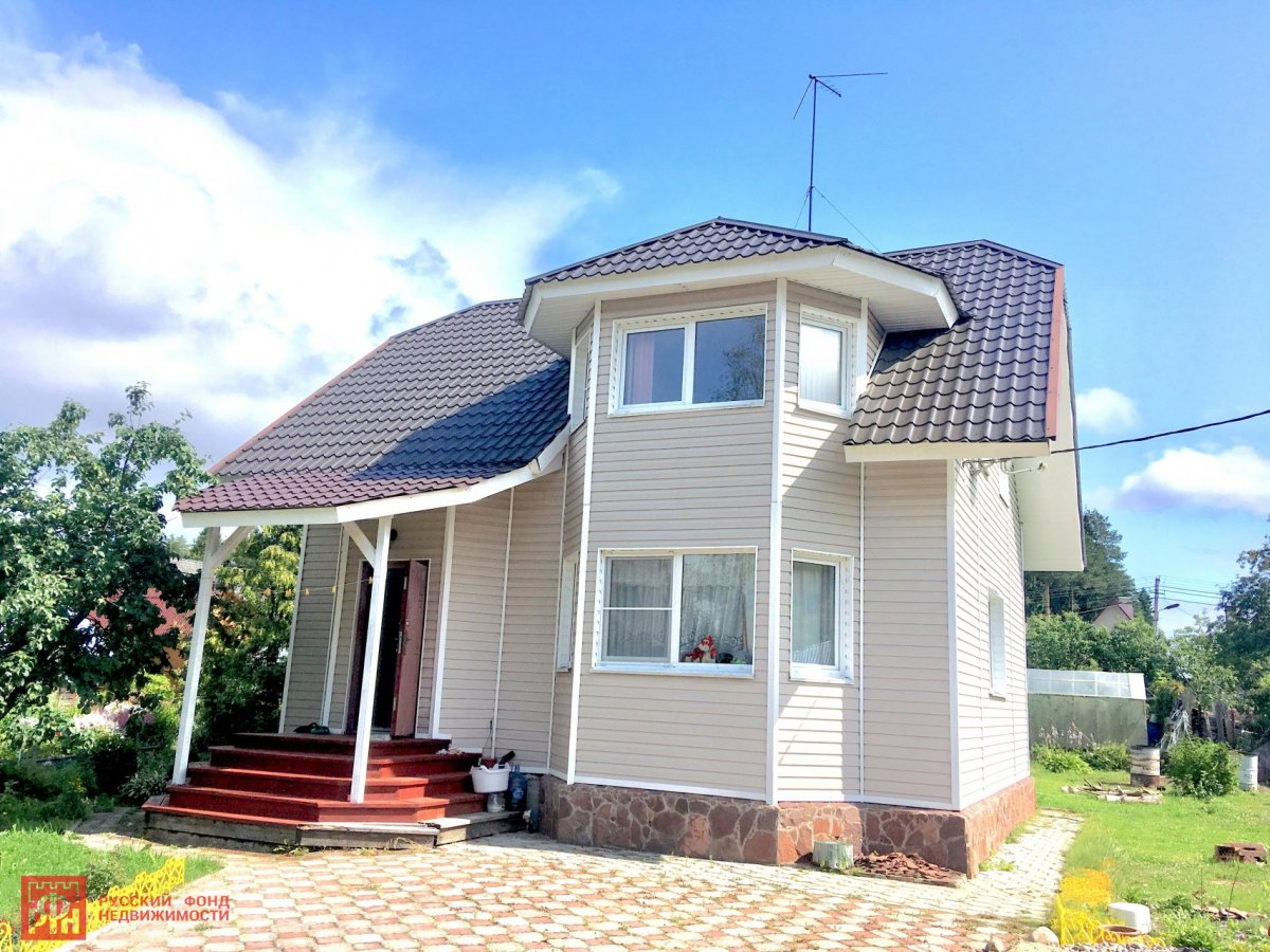 Продажа дома, 113м <sup>2</sup>, 8 сот., Рощино, Рощино пос.